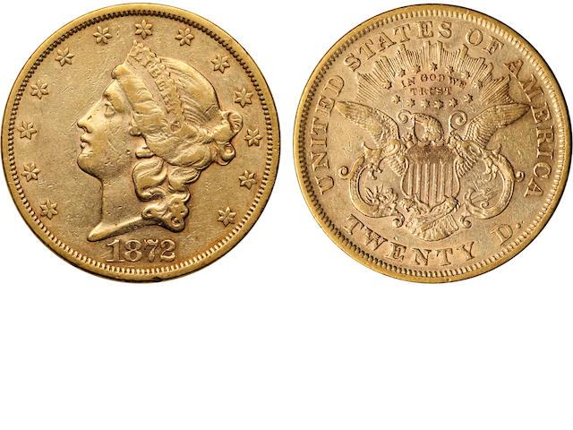 1872 $20