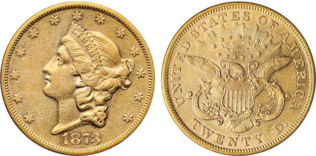 1873-S Open 3 $20