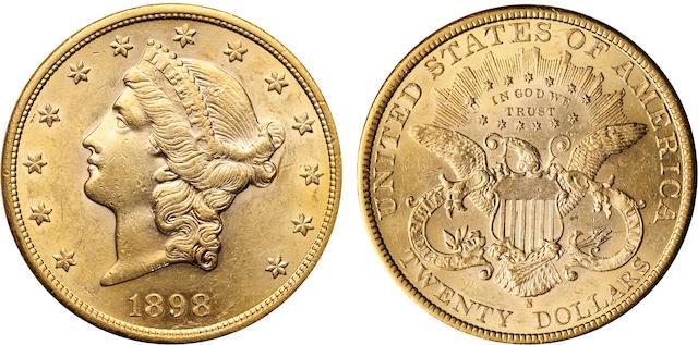 1898-S $20
