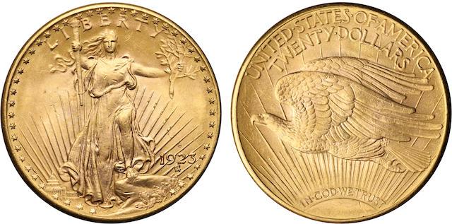 1923-D $20
