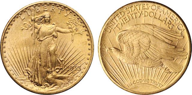 1913-S $20