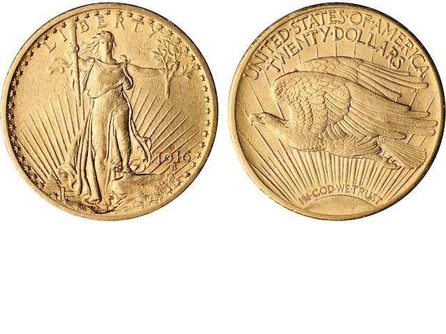 1916-S $20