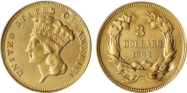 1863 $3
