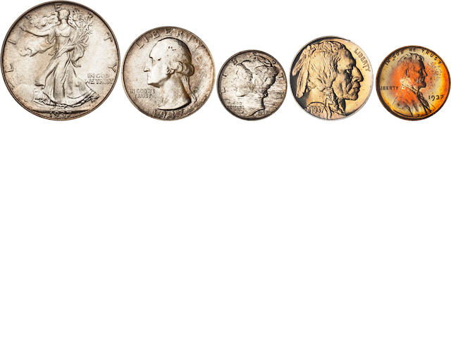 1937 Proof Set