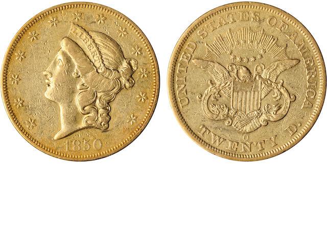 1850-O $20