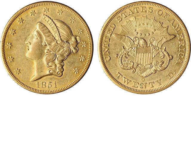 1851-O $20
