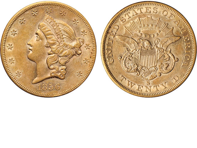 1856-S $20