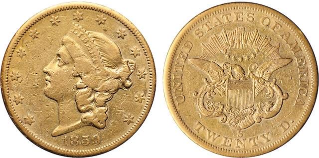 1859-S $20