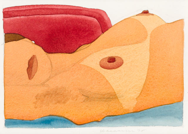 TOM WESSELMANN (1931-2004) Kate, 1975