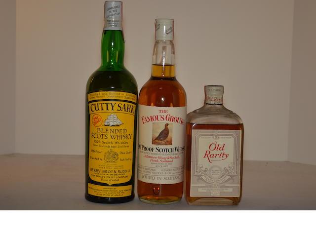Cutty Sark (1)   Famous Grouse (1)   Old Rarity (1)