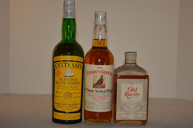 Cutty Sark (1)   Famous Grouse (1)   Old Rarity (1)