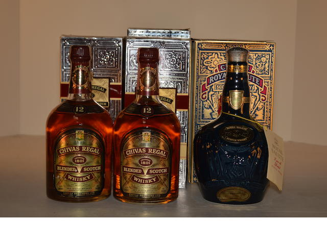 Royal Salute 21 years old (1)   Chivas Regal 12 years old (6)