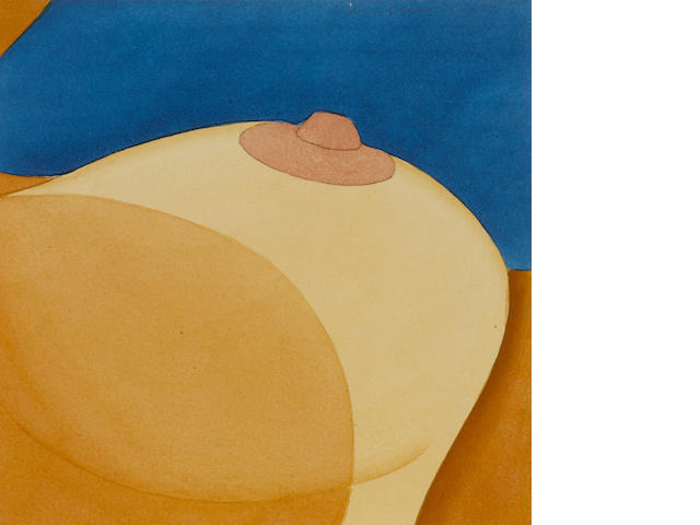 TOM WESSELMANN (1931-2004) Salvaged Breast, 1977