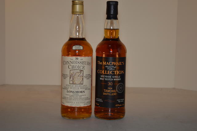 Longmorn 1963- 30 years old (1)   Tamdhu 30 years old (1)