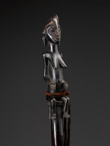 Senufo Figural Staff, Ivory Coast