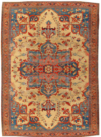 A Serapi carpet Northwest Persia size approximatelty 11ft. 6in. x 15ft.