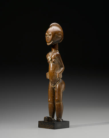 Kulango or Abron Male Figure, Ivory Coast