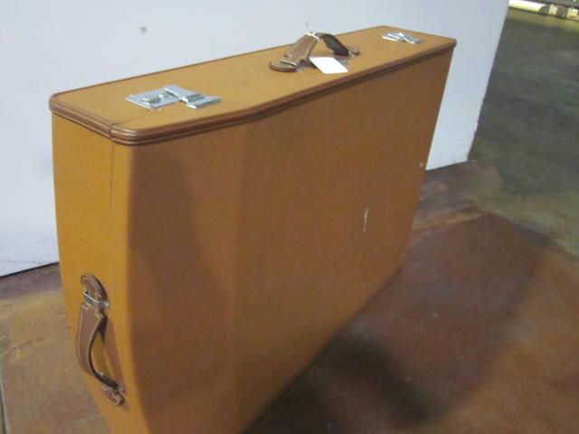 A Mercedes-Benz suitcase,