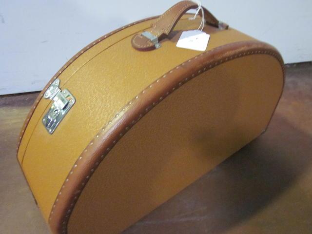 A Mercedes-Benz 'hatbox' suitcase,