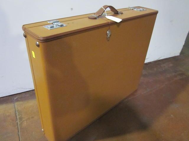 A Mercedes suitcase,