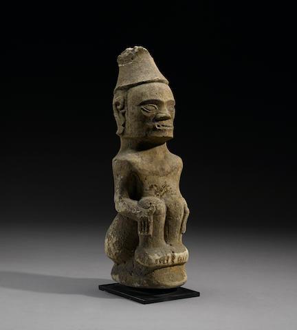 Toba Batak Male Ancestor Figure, Borneo