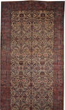 A Kerman carpet Central Persia size approximately 11ft. 5in. x 24ft. 10in.