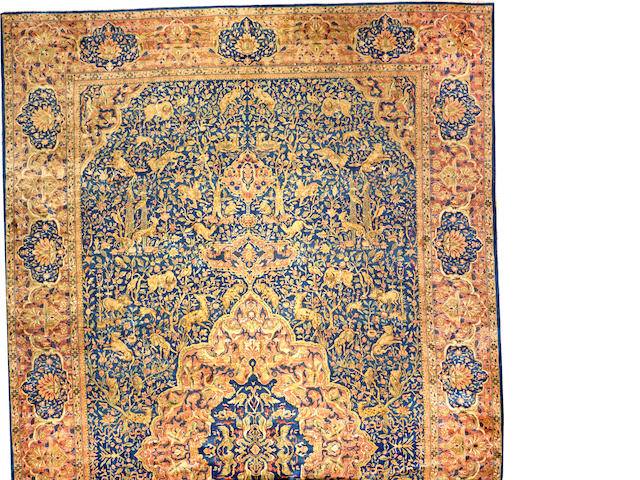 An Indian carpet India size approximately 15ft. 2in. x 26ft. 9in.