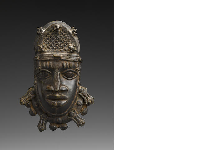 Benin Mask Hip Ornament, Nigeria