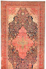 A Fereghan Sarouk carpet Central Persia size approximately 13ft. 2in. x 24ft. 6in.