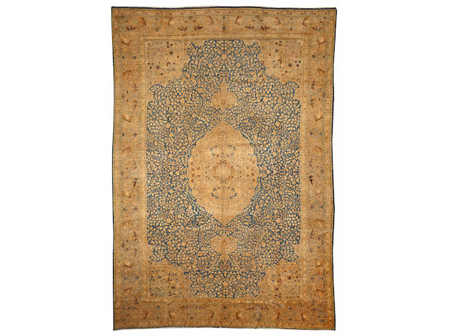 A Tabriz carpet Northwest Persia size approximately 13ft. x 19ft. 1in.