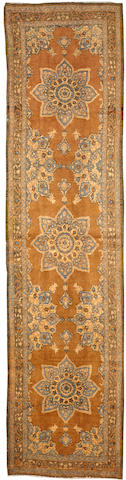 A Tabriz carpet Northwest Persia size approximately 3ft. 1in. x 12ft. 8in.