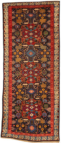 A Zechour runner Caucasus size approximately 3ft. 9in. x 9ft. 5in.