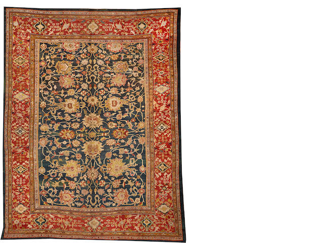 A Sultanabad carpet Central Persia size approximately 13ft. 7in. x 17ft. 7in.