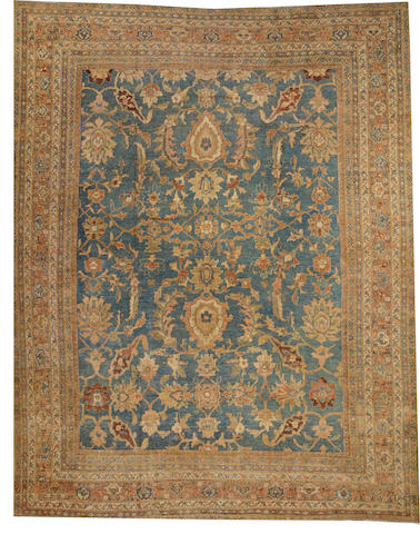 A Sultanabad carpet Central Persia size approximately 10ft. 2in. x 13ft. 2in.
