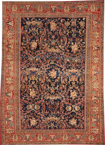 A Sultanabad carpet Central Persia size approximately 8ft. 6in. x 12ft.