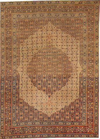 A Hadji Jalili Tabriz carpet Northwest Persia size approximately 8ft. 10in. x 12ft. 3in.