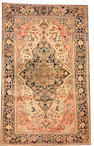 A Mohtasham Kashan rug Central Persia size approximately 4ft. 3in. x 6ft. 9in.