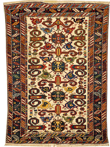 A Perpadil rug Caucasus size approximately 3ft. 8in. x 5ft. 3in.