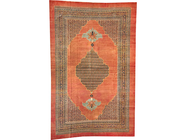 A Tabriz carpet Northwest Persia size approximately 11ft. 6in. x 17ft. 10in.