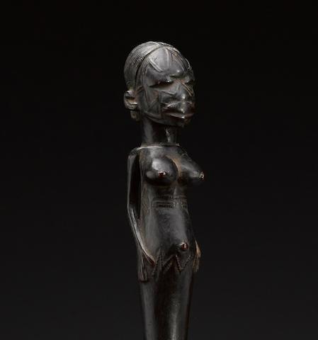Makonde Figural Spoon, Tanzania or Mozambique