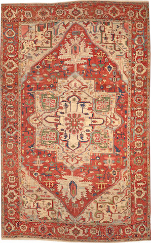 A Serapi carpet Northwest Persia size approximately 10ft. x 15ft. 10in.