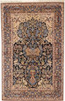 An Isphahan rug South Central Persia size approximately 3ft. 7in. x 5ft. 8in.