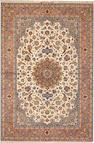 An Isphahan rug South Central Persia size approximately 5ft. 3in. x 7ft. 9in.