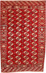 A Turkoman Main carpet Turkestan size approximately 6ft. 9in. x 10ft. 6in.