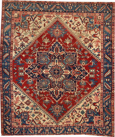A Serapi carpet Northwest Persia size approximately 9ft. 6in. x 11ft. 4in.