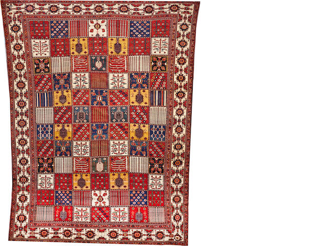 A Bakhtiari carpet Southwest Persia size approximately 12ft. 1in. x 16ft.