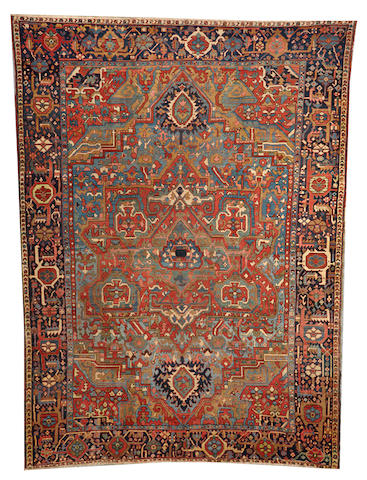 A Serapi carpet Northwest Persia size approximately 10ft. 7in. x 14ft. 3in.
