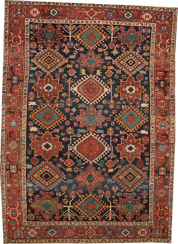 A Karadja carpet Northwest Persia size approximately 7ft. 6in. x 10ft. 1in.