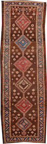 A Bakshaish runner Northwest Persia size approximately 3ft. 8in. x 10ft. 9in.