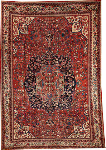 A Sultanabad carpet Central Persia size approximately 11ft. 9in. x 17ft.